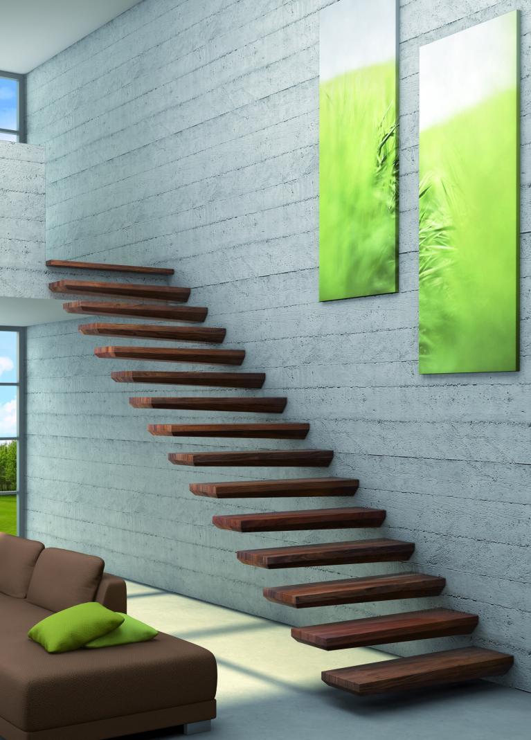 escalier autoporteur. Black Bedroom Furniture Sets. Home Design Ideas