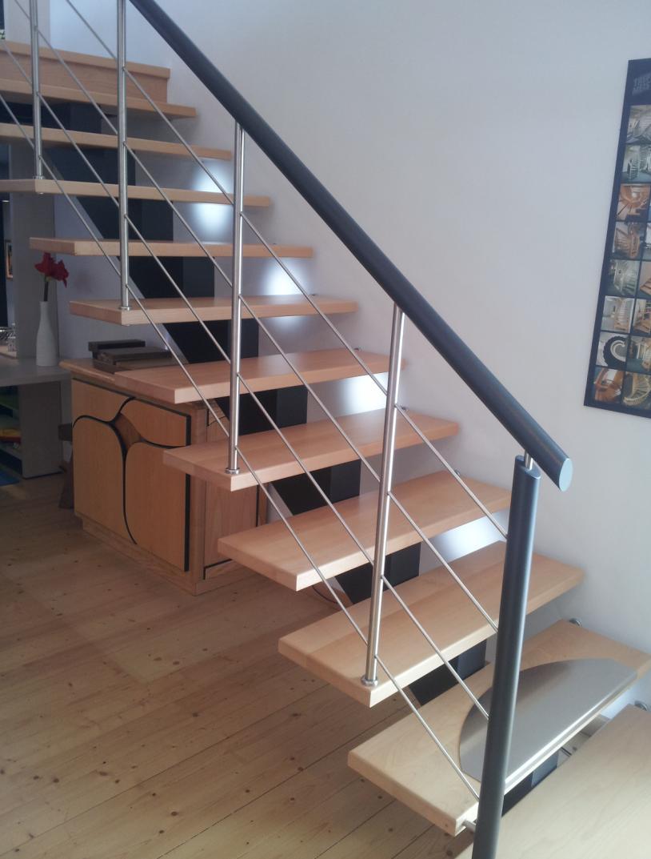 escalier a limon. Black Bedroom Furniture Sets. Home Design Ideas
